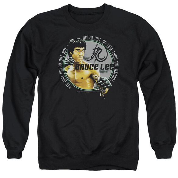 Bruce Lee Expectations Adult Crewneck Sweatshirt