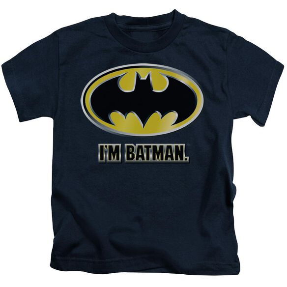 Batman I'm Batman Short Sleeve Juvenile T-Shirt