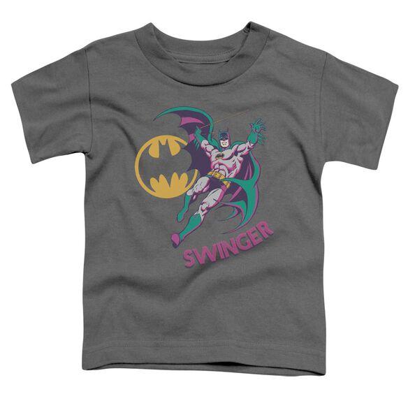 Dco Swinger Short Sleeve Toddler Tee Charcoal Sm T-Shirt