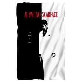 Scarface Poster Fleece Blanket