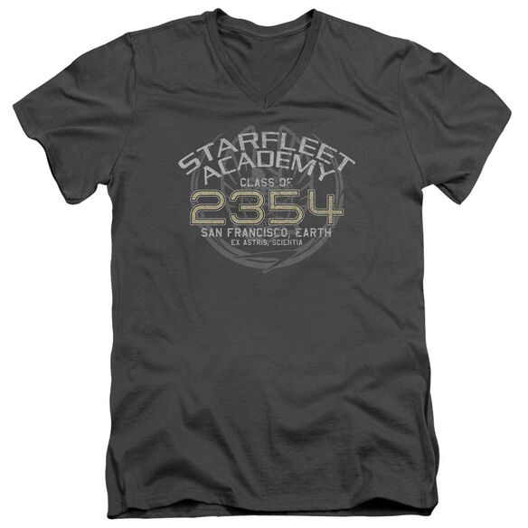 Star Trek Sisko Graduation Short Sleeve Adult V Neck T-Shirt