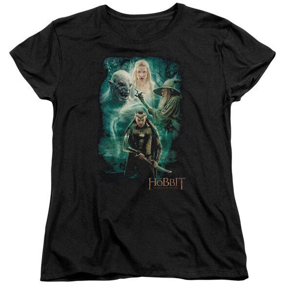 Hobbit Elronds Crew Short Sleeve Womens Tee T-Shirt