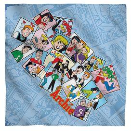 Archie Panels Bandana White