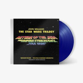John Williams - Star Wars Original Trilogy Original Motion Picture Score [Exclusive Light Saber Red, Blue, or Green Vinyl]