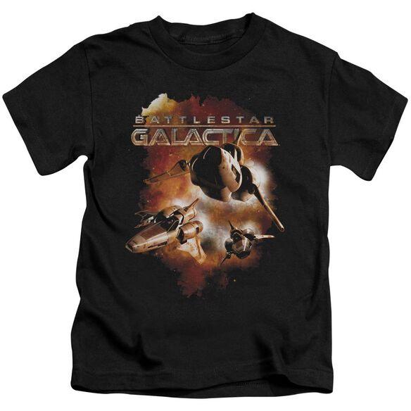 Battlestar Galactica (New) Vipers Stretch Short Sleeve Juvenile T-Shirt