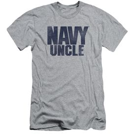 Navy Uncle Short Sleeve Adult Athletic T-Shirt