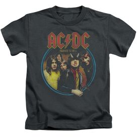 Acdc Highway To Hell Short Sleeve Juvenile T-Shirt