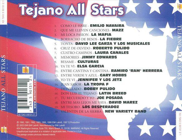 Tejano All Stars / Various