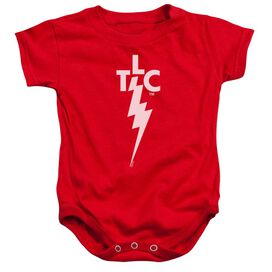 Elvis Presley Tlc Logo - Infant Snapsuit - Red - Sm