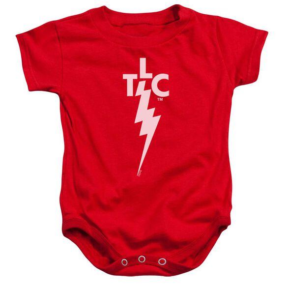 Elvis Tlc Logo Infant Snapsuit Red Md