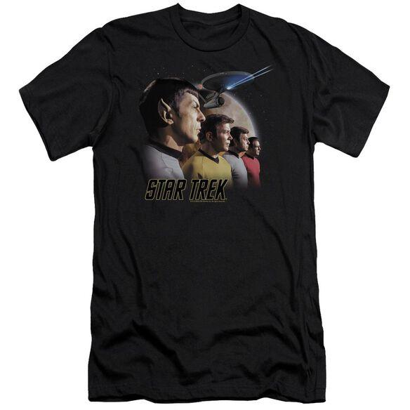 ST ORIGINAL FORWARD TO ADVENTURE - S/S ADULT 30/1 - BLACK T-Shirt