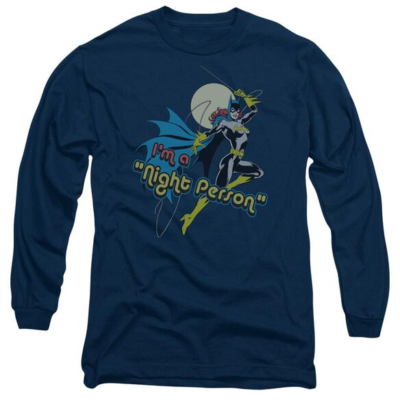 Dc Night Person Long Sleeve Adult T-Shirt