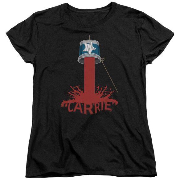 Carrie Bucket Of Blood Short Sleeve Womens Tee T-Shirt