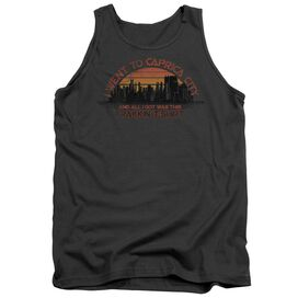 Bsg Caprica City - Adult Tank - Charcoal