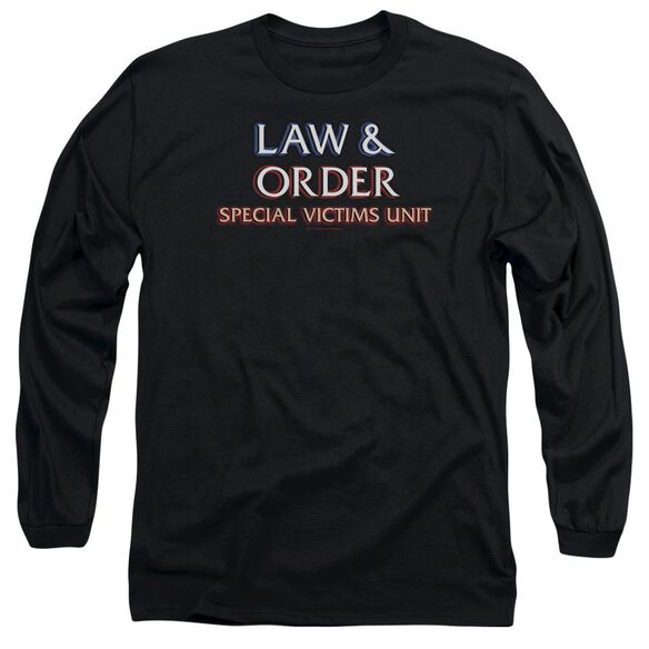 Law And Order Svu Logo Long Sleeve Adult T-Shirt