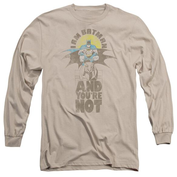 Dc And You're Not Long Sleeve Adult T-Shirt