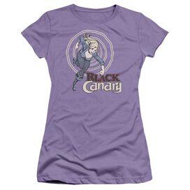 Dc Black Canary Short Sleeve Junior Sheer T-Shirt