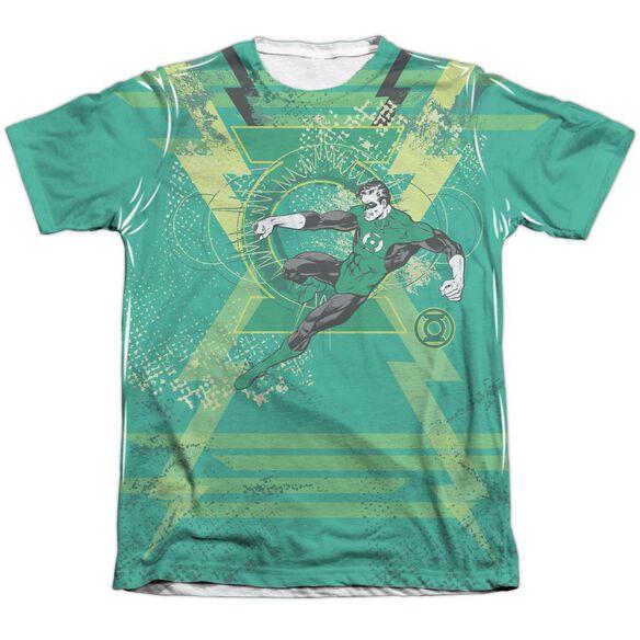 Green Lantern Weild The Logo Adult 65 35 Poly Cotton Short Sleeve Tee T-Shirt