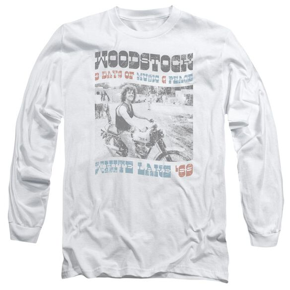 Woodstock Rider Long Sleeve Adult T-Shirt