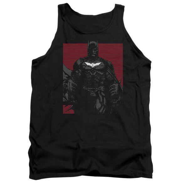 Dark Knight Rises Bat Lines Adult Tank