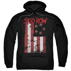 Skid Row Flagged Adult Pull Over Hoodie