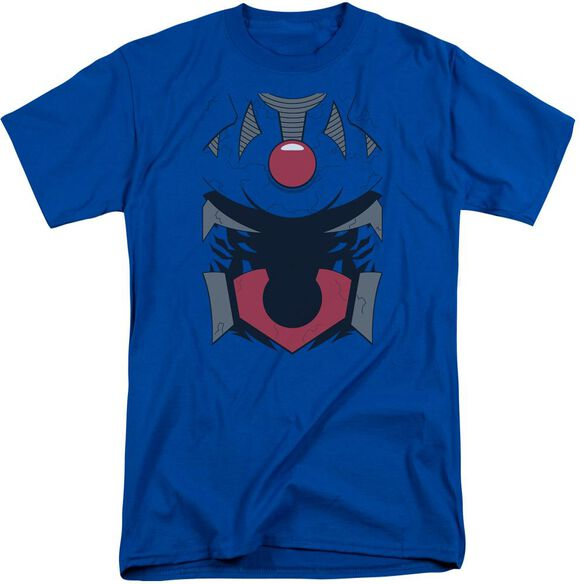 Jla Darkseid Costume Short Sleeve Adult Tall Royal T-Shirt
