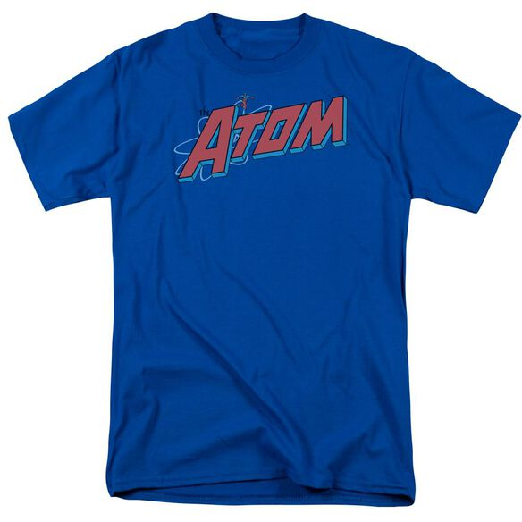 Dc The Atom Short Sleeve Adult Royal T-Shirt