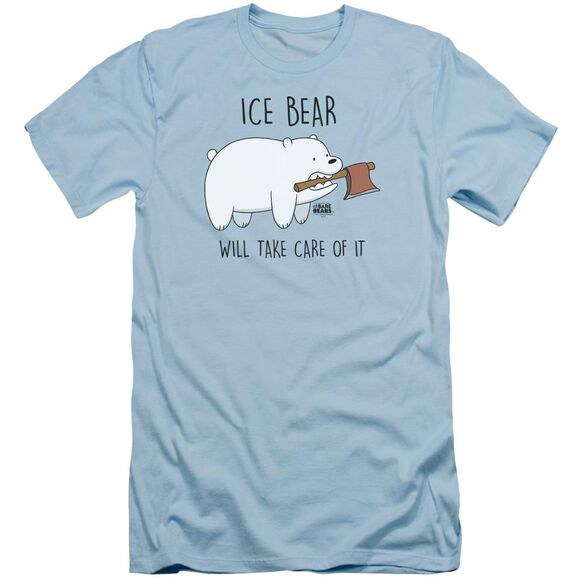 We Bare Bears Take Care Of It Short Sleeve Adult Light T-Shirt