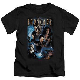 Farscape Comic Cover Short Sleeve Juvenile Black Md T-Shirt