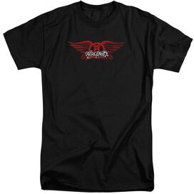 Aerosmith Winged Logo Short Sleeve Adult Tall T-Shirt