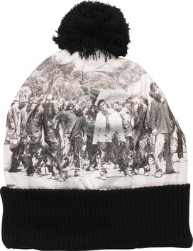 Walking Dead Zombies Sublimated Pom Beanie