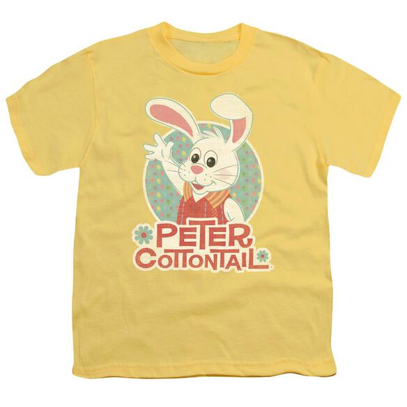 Here Comes Peter Cottontail Peter Wave Short Sleeve Youth T-Shirt