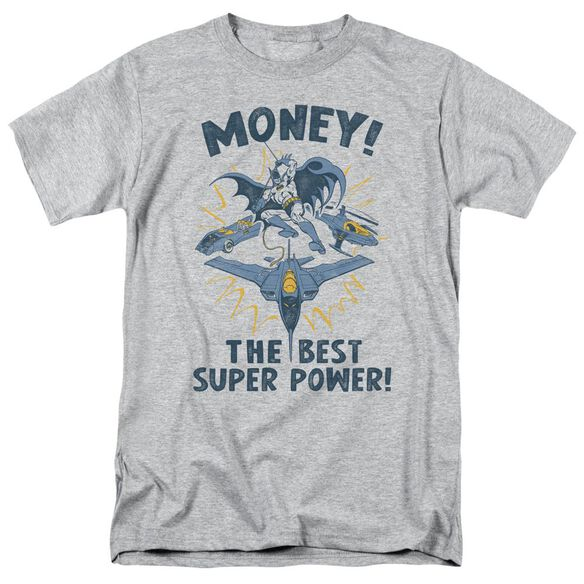 Dc Money Short Sleeve Adult Athletic Heather T-Shirt
