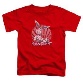 Looney Tunes Wishful Thinking Short Sleeve Toddler Tee Red T-Shirt