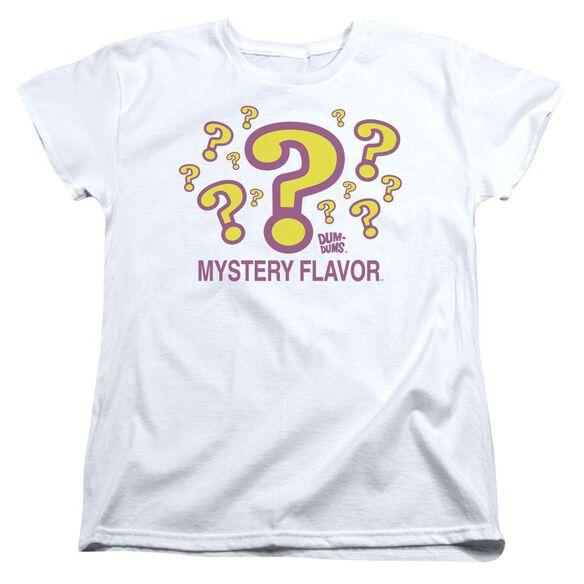 Dum Dums Mystery Flavor Short Sleeve Womens Tee T-Shirt