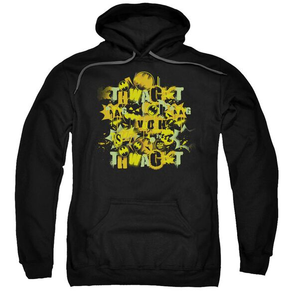 Batman Halloween Knight Sounds Adult Pull Over Hoodie