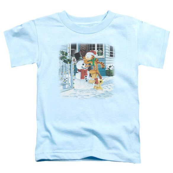 GARFIELD SNOW FUN-S/S TODDLER T-Shirt