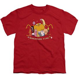 Adventure Time Outstretched Short Sleeve Youth T-Shirt