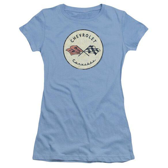 Chevrolet Old Vette Short Sleeve Junior Sheer Carolina T-Shirt