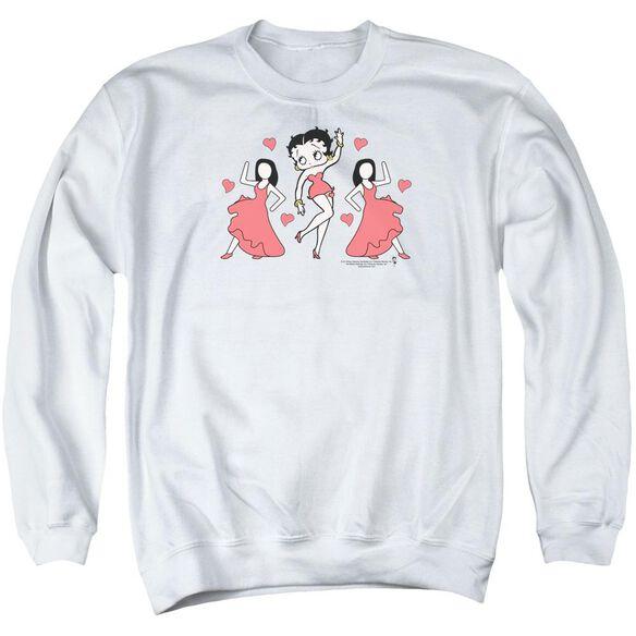 Betty Boop Bb Dance Adult Crewneck Sweatshirt