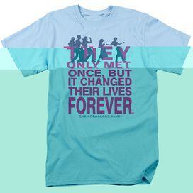 BREAKFAST CLUB FOREVER - S/S ADULT 18/1 - LIGHT BLUE - LG - LIGHT BLUE T-Shirt