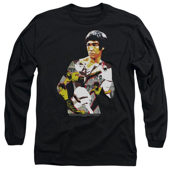 Bruce Lee Body Of Action Long Sleeve Adult T-Shirt