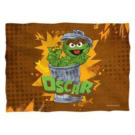 Sesame Street Oscar Pillow Case