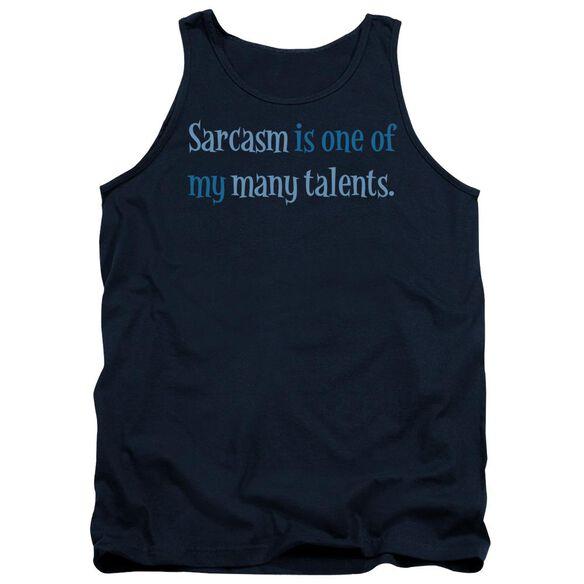 Sarcasm Is A Talent Adult Tank