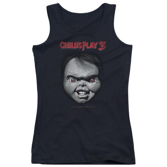 Childs Play 3 Face Poster Juniors Tank Top