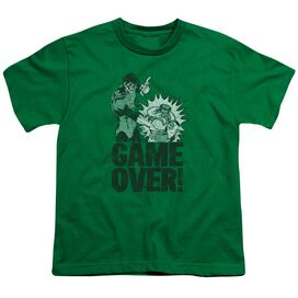 Lantern Game Over Short Sleeve Youth Kelly T-Shirt