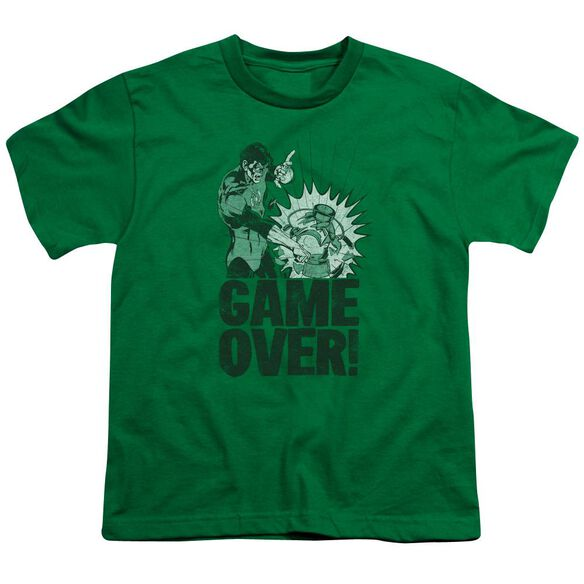 Lantern Game Over Short Sleeve Youth Kelly T-Shirt