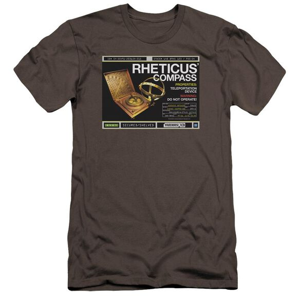 Warehouse 13 Rheticus Compass Premuim Canvas Adult Slim Fit
