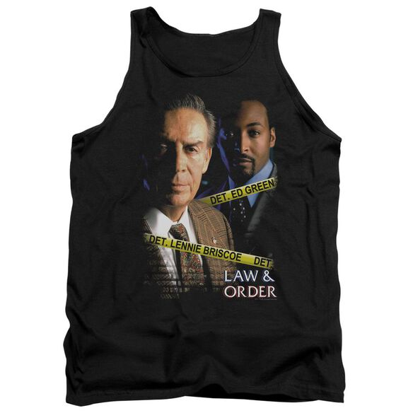 Law And Order Briscoe And Green Adult Tank
