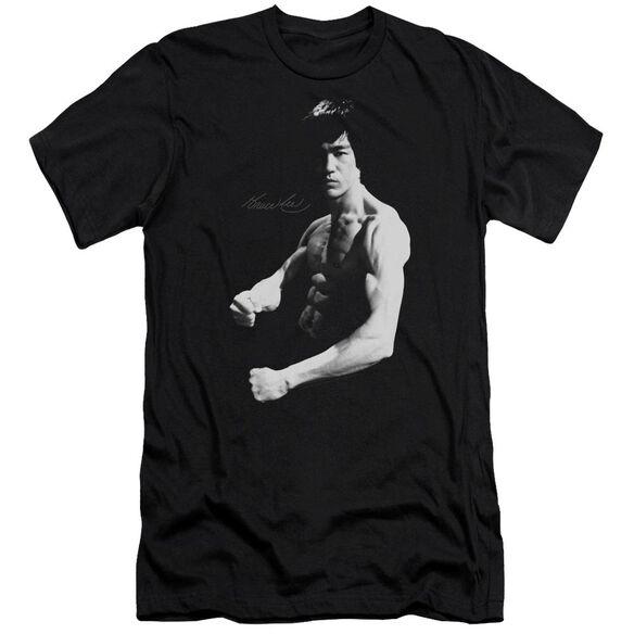 Bruce Lee Stance Short Sleeve Adult T-Shirt